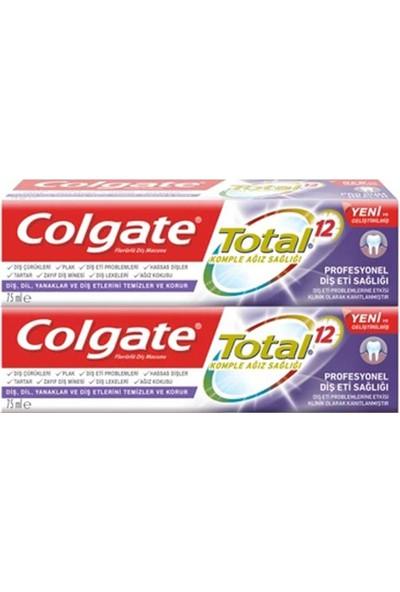Colgate Total Profesyonel Diş Eti Sağlığı Diş Macunu 75 ml (Signal Ikili Seyahat Seti Hediyeli)