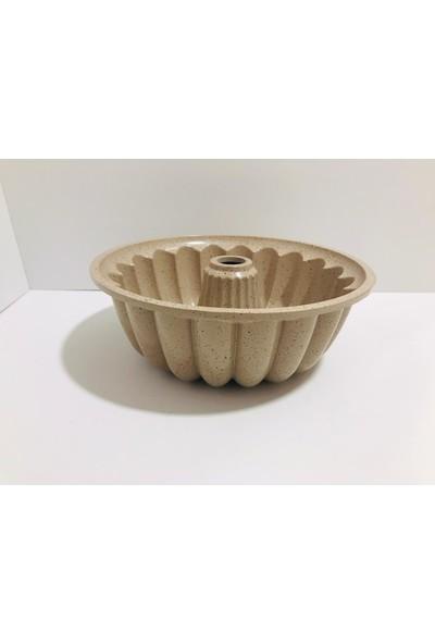 Gülsan Safran Dilimli Kek Kalıbı 26 cm Krem