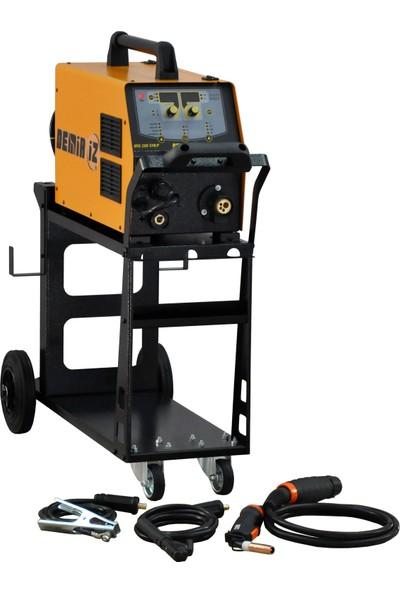 Demiriz Mıg 200 Syn/p Monofaze Inverter Gazaltı/elektrod Kaynak Makinası 220V