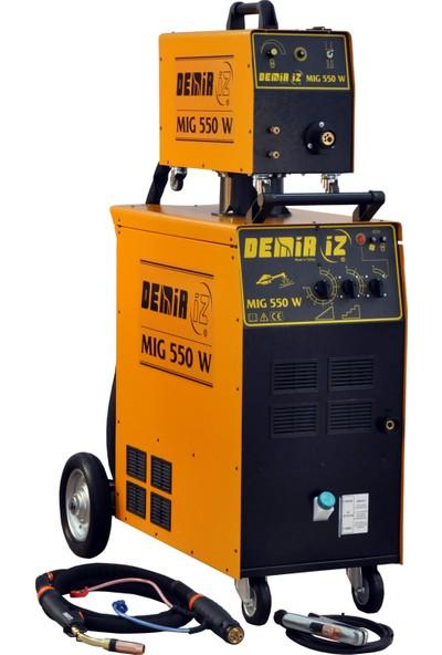 Demiriz Mıg 550 W 550 Amper Su Soğutmalı Gazaltı Kaynak Makinası