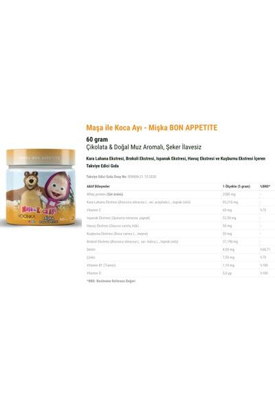 Melisa Içeren Takviye Edici Gıda 50 ml + Çikolata & Doğal Muz Aromalı Takviye Edici Gıda 60 gr