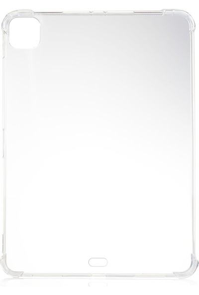 Happyshop Apple iPad Pro 11 2021 Kılıf Ultra Korumalı Şeffaf Antishock Silikon