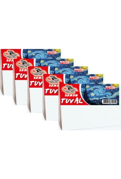 Aşkar 13 x 18 cm Tuval 5 Adet