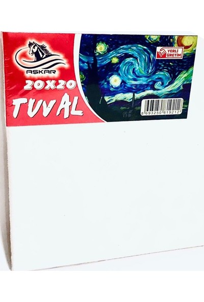 Aşkar 20 x 30 cm Tuval 5 Adet