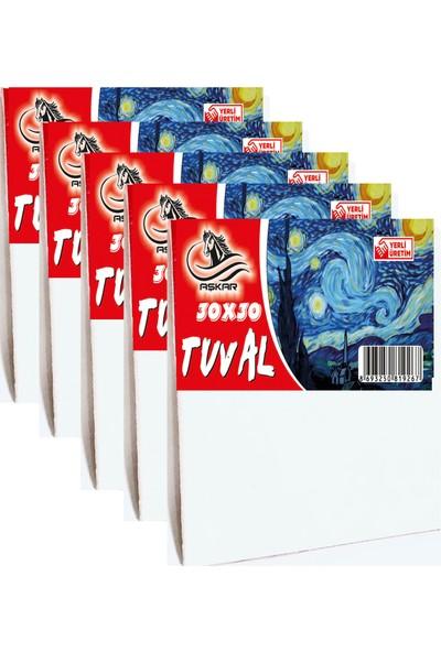 Aşkar 30 x 30 cm Tuval 5 Adet