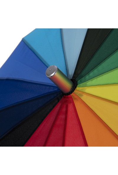 Biggbrella 04125-U45 Uzun Rainbow Şemsiye