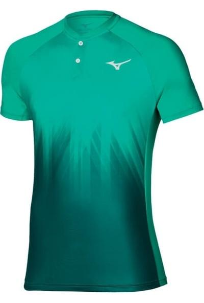 Mizuno Shadow Polo Erkek Tshirt Yeşil