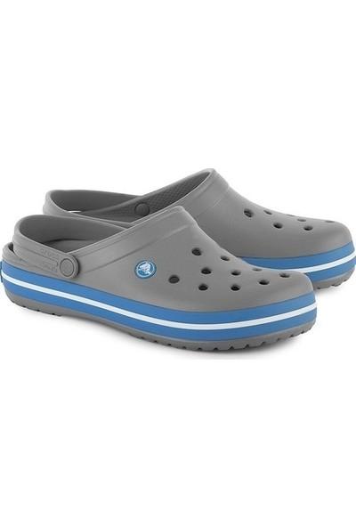 Crocs Crocband Gri-Mavi Unisex Terlik