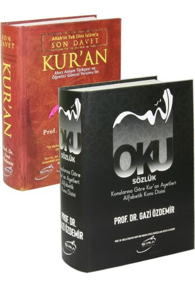 Şira Yayınları Son Davet Kur'an ve Kur'an Ayetleri Alfabetik Sözlük 2 Kitap Set