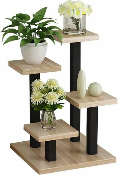 Abronya Metal Ahşaplı Düzenleyici Masaüstü Düzenleyici Sehpa Dekoratif Ürün