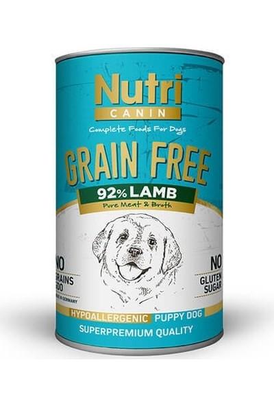 Nutri Canin Tahılsız Puppy Kuzu Etli Köpek Konservesi 400 gr