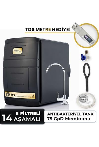 Aquaflo Black 14 Aşamalı Su Arıtma Cihazı (SKNP14-P-S)