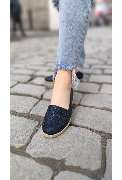 Janıe Kadın Babet Ayakkabı Siyah