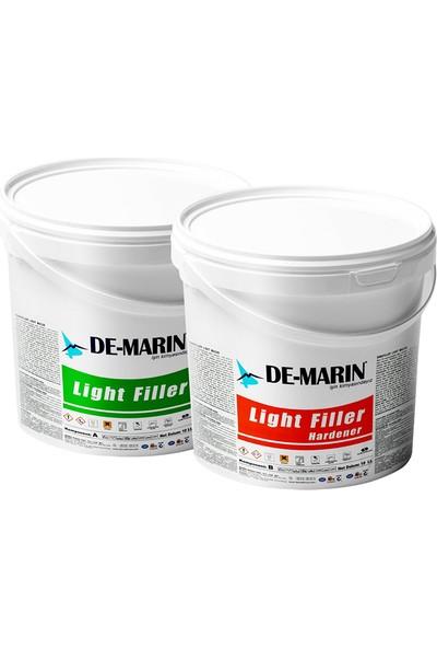 Demarin Demafiller Light Tekne Macunu A+B Komponent 1 kg