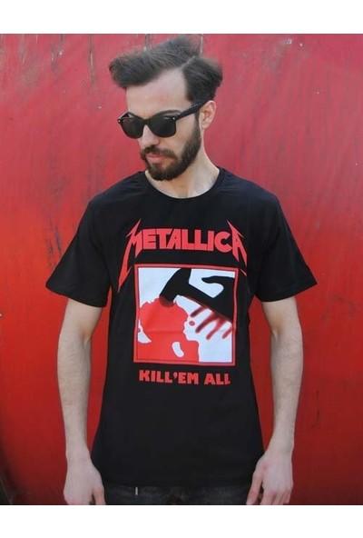 Orijin Metallica Tişört-Kill Em All