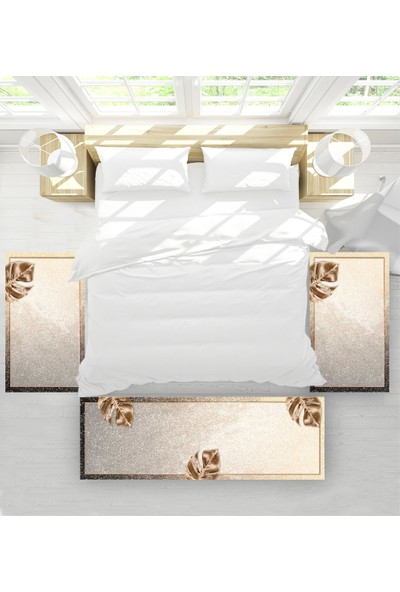 Soley Lateks Süngerli Yatak Odası Halı Seti