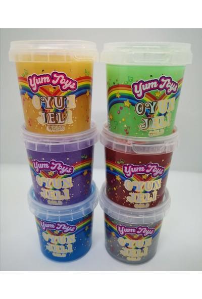 Yum Toys Gold Serisi Slaym - Hazır Slime 6'lı Tüm Renkler 140X6 gr