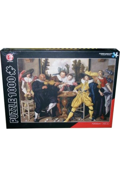 CC Oyuncak Lokanta Puzzle 1000 Parça