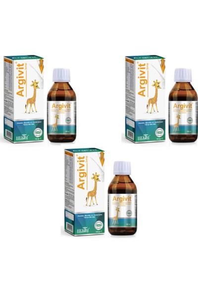 Argivit Multivitamin Şurup 150 ml 3 Adet