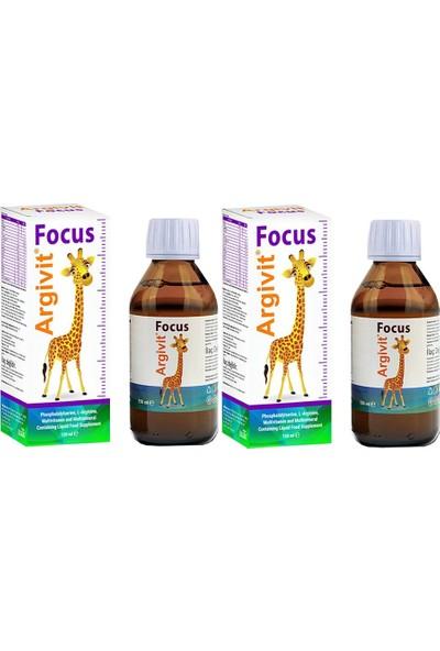 Argivit Focus 150 ml Şurup 2 Adet