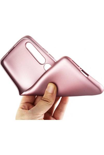 Nezih Case Xiaomi Mi 10 Uyumlu Soft Tasarım Yumuşak Silikon Kılıf Rose Gold