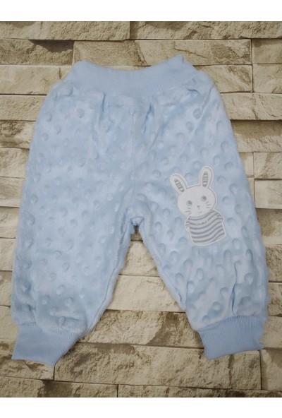 Kids Buude Welsoft Antibakteriyal Kumaş Bebek Kalın Tek Alt Pantolon