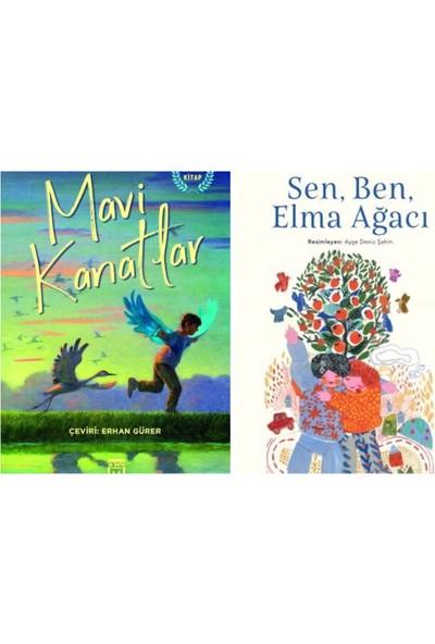 Mavi Kanatlar - Sen, Ben ve Elma Ağacı - 2 Kitap