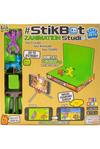 Stikbot Petsfilm Stüdyosu - Mor, Mavi
