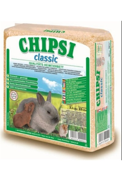 Cats Best Chipsi Classic Talaş 15 Lt