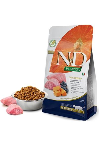 N&D N-D Pumpkin Kuzu Yaban Mersini Kısırlaştırılmış Kedi Maması 5 kg