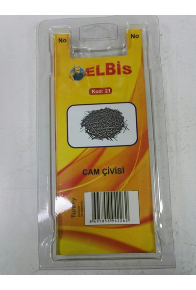 Elbis Cam Civisi 100 Adet