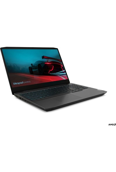 """Lenovo IdeaPad Gaming 3 AMD Ryzen 7 4800H 16GB 512GB SSD GTX1650 Ti Freedos 15.6"""" Taşınabilir Bilgisayar 82EY00MJTX"""