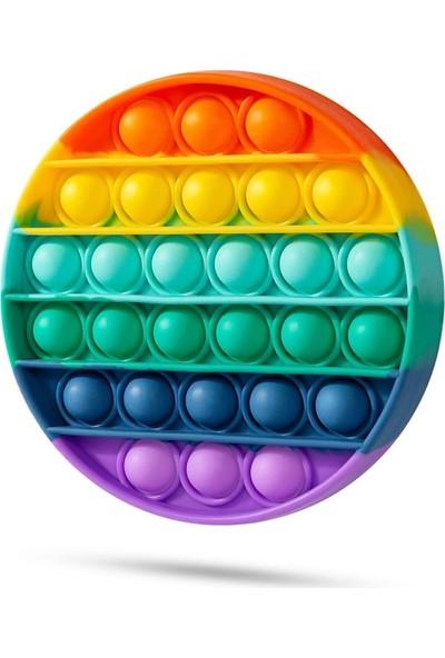Hamaha Pop It Push Bubble Fidget Özel Pop Duyusal Oyuncak Zihinsel Stres Btapop
