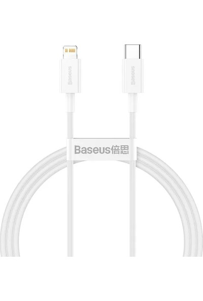 Baseus Superior Series Type-C To Lightning Pd 20W 1 mt Hızlı Şarj Veri Kablosu CATLYS-A02