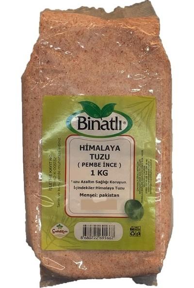 Binatlı Himalaya Tuzu Öğütülmüş Pembe 1000 gr