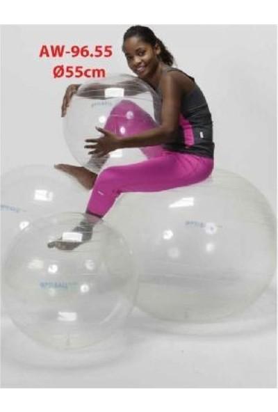 Gymnic Şeffaf Terapi Topu 55 cm