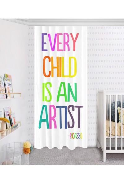 Jungle Halı Picasso Çocuk Odası Halısı