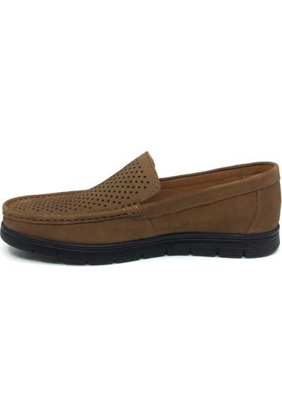 Saygıner %100 Deri Yazlık Rahat Erkek Rok Ayakkabı 40-45