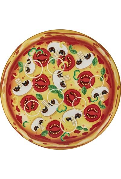 Karaca Pizza Cam Sunum Tahtası