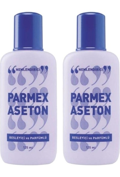 Parmex Aseton Parfümlü 125 ml 2 Adet