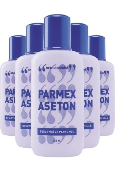 Parmex Aseton Parfümlü 125 ml 5 Adet