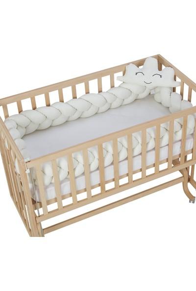 G&G Baby Bebek Beşikleri Için Örgü Yan Koruma 3,5 Metre