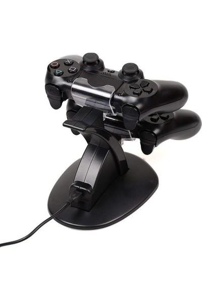 Hobimtek Ps4 Dock Kol Şarj Istasyonu Ps4 Pro / Playstation 4 / Ps4 Slim