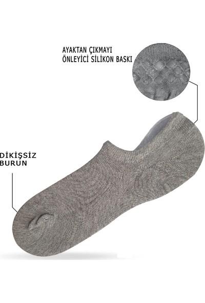 Mem Socks 6'lı Silikonlu Sneaker (Görünmez) Çorap