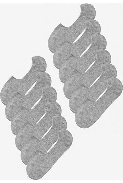 Mem Socks 12'li Silikonlu Babet Çorap
