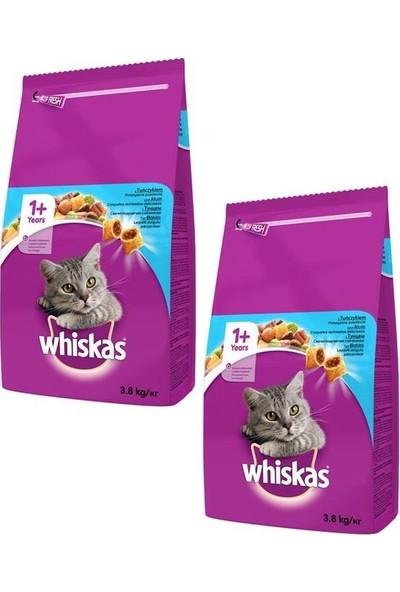 Whiskas Ton Balıklı Sebzeli Kuru Kedi Maması 3,8 kg (2 Adet)
