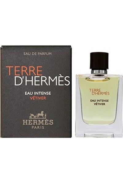 Hermes Terre D'hermes Eau Intense Vetiver Edp 5ml Erkek Parfümü