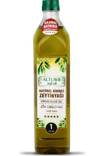 Altuwr Soğuk Sıkım Natürel Birinci Zeytinyağı 1 Lt (Plastik)