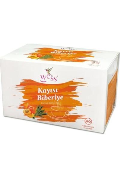 Wess Kayısı Biberiye Çayı