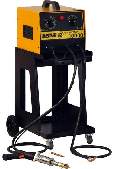 Demiriz Car Spotter 9000 Kaporta Çektirme Makinası Sehpalı + 2 Aparat